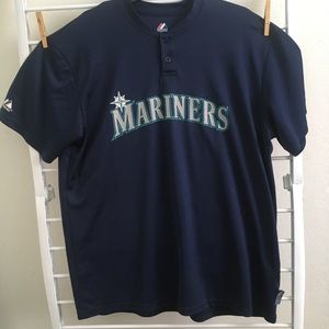 Seattle Mariners 2-Button Cool Base Jersey